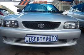 Bargain 2002 Toyota TAZZ 160i Hatch Back Manual 98,000km LIBERTY AUTO