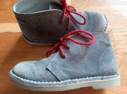Высокие замшевые ботинки Redoute