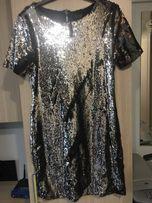 Платье коктейльное заркальное