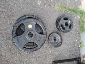 Olympic Gym Weight Plates for Sale!