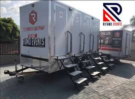 MOBILE VVIP TOILETS & FRIDGE FOR HIRE