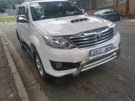 2011 TOYOTA FORTUNA WITH AN ENGINE CAPACITY 3,0