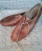 Buty półbuty jezzówki Ecco skóra 40