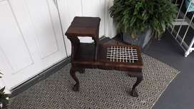 Antique telephone seat/stand