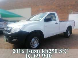 2016 Isuzu kb250 fleetside
