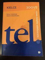 Książka telefoniczna Kielce 2001/2002