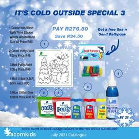 Acornkids July 2021 It's cold outside Special 3