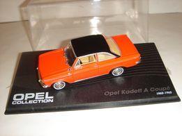Машинка металлическая Opel Kadett A Coupe. 1:43