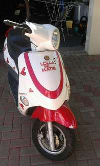 Image of Gomoto scooter