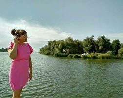 Очень красивое розовое платье