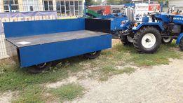 Причеп прицеп двоосний тракторний. Поворотна вісь. 3 т.