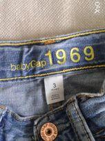 Джинсы GAP голубые для мальчика 3 лет (100 см)