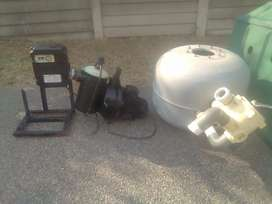 Pool pumps filters all sizes