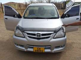Toyota avanza in good condition