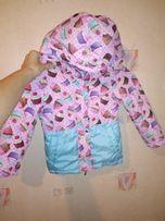 Куртка для девочки 2-3-4 года, р. 98-104