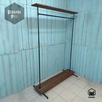 №11 Вешалка loft мебель лофт стойка торговая напольная из труб