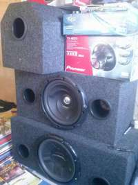 Woofers and all typs of cabinets 0
