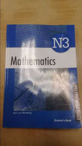 N3 Mathematics text book