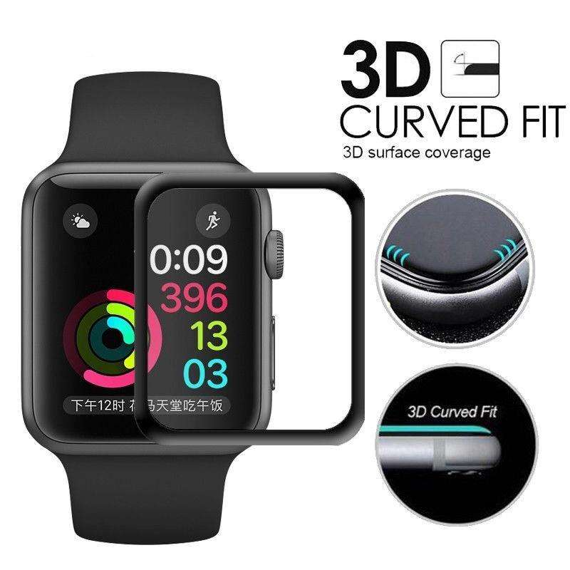Full 3D Apple watch screen protector 0