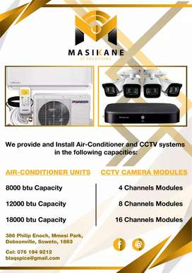 Air-conditioning installation and maintenance
