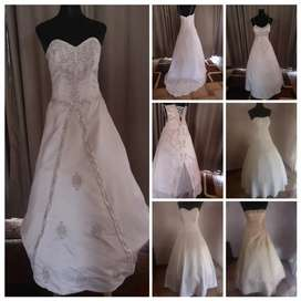 Wedding dresses and farewell dresses and concert clothes