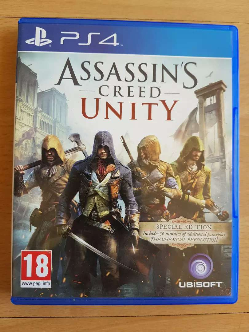 Assassin's Creed Unity (PS4) 0