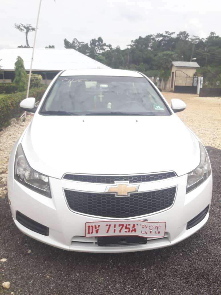 A 2012 Chevrolet Cruz with 1.4litre capacity 0