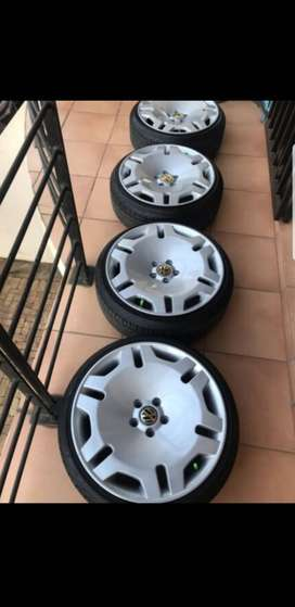 VW oem valcave 17 inch wheels for sale