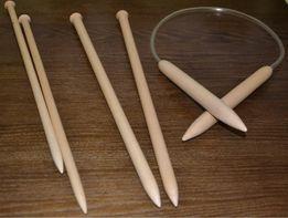 Спицы для вязания толстой пряжей