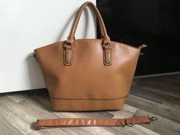 Ruda torebka Jennifer&Jennifer torba shopper bag pojemna