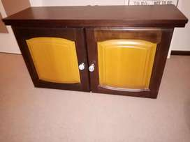 Small cupboard with solid doors