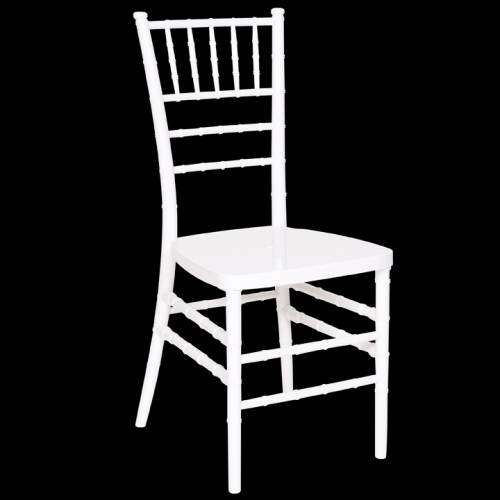WHITE RESIN TIFFANY CHAIR FOR SALE 0