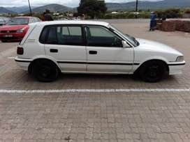 I'm selling my corolla conquest 1.6 sport for only R38000