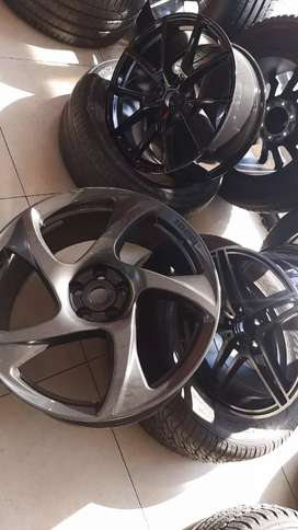 Rims and tyres to go on any all trailers cabs too