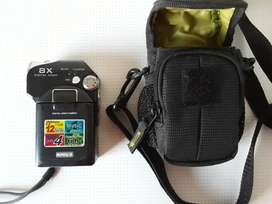 Handheld Digital Video Camera. 12 Megapixels. Records Directly to SD