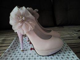 Свадебные туфли 36 р-р