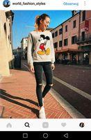 Bluza Mickey Mouse ONLY myszka miki szara