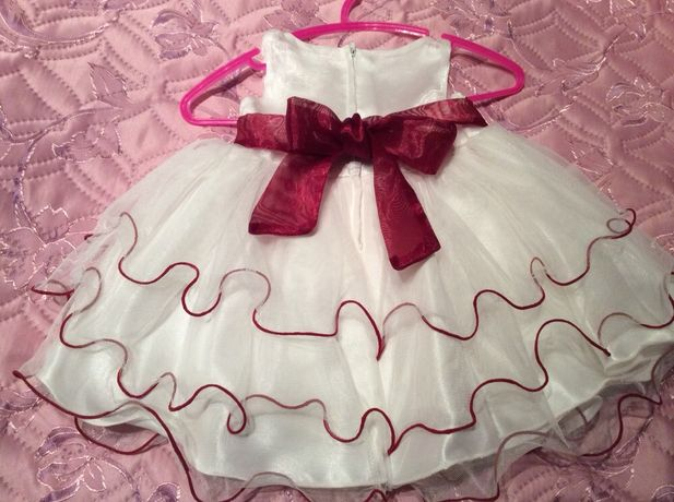Продам шикарное платье на принцессу 6-12 месяцев Лелюки - изображение 2