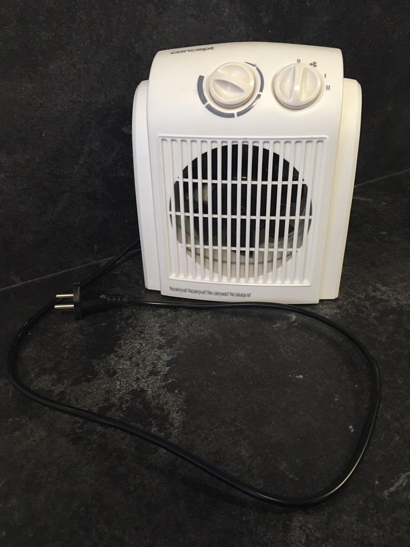 Horkovzdušný ventilátor 0