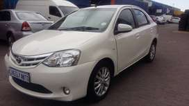 2016 Toyota Etios 1.5 Sedan  white