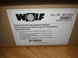 WOLF zestaw przyłączeniowy kotła nadtynkowy oryginał
