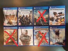 PS4 games, R200 each or R800 for all of them