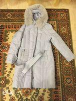Продам пуховик-пальто размер 48-50