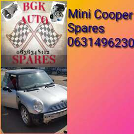 Mini Cooper spares available