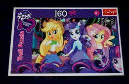 Puzzle Equestria Girls, My Little Pony, 160 elementów, firmy TREFL