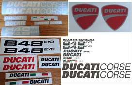 848 EVO decals stickers graphics kits