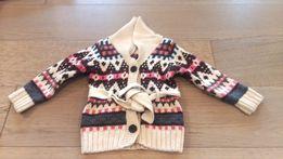 sweterek dla dziewczynki H&M rozmiar 86