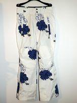 Spodnie Narciarskie - Hawajski motyw na 170- 175 cm