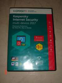 Used, KASPERSKY internet security, multi device 2017( 3+1), new for sale  South Africa