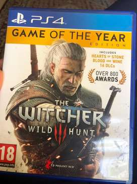 The witcher game of the year edition ps4
